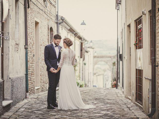 Il matrimonio di Alessandro e Marta a San Lorenzo in Campo, Pesaro - Urbino 74