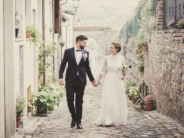 Il matrimonio di Alessandro e Marta a San Lorenzo in Campo, Pesaro - Urbino 76