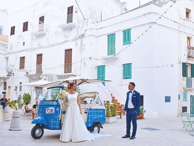 Il matrimonio di Cesare e Mara a Monopoli, Bari 41