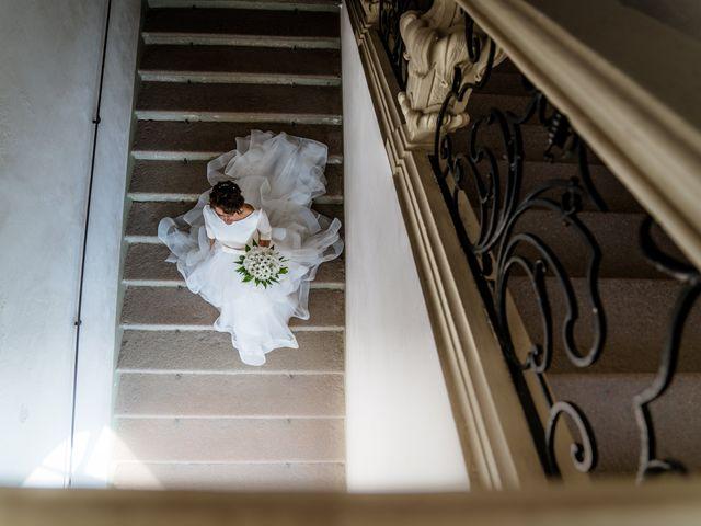 Il matrimonio di Damiano e Mara a Cassano d'Adda, Milano 1