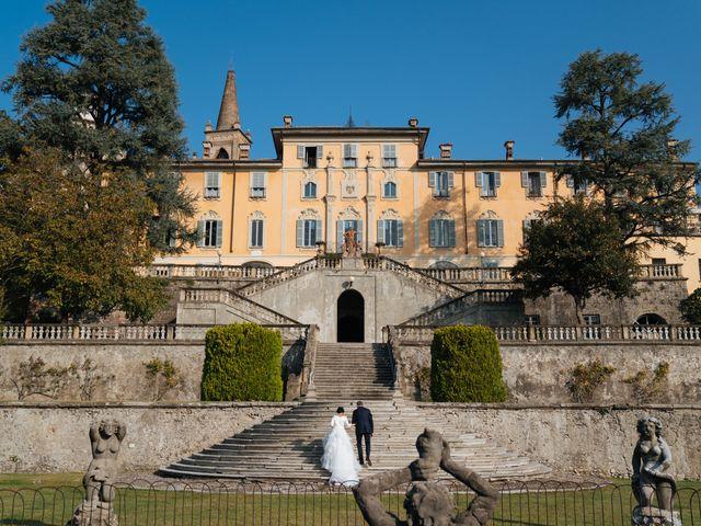 Il matrimonio di Damiano e Mara a Cassano d'Adda, Milano 13