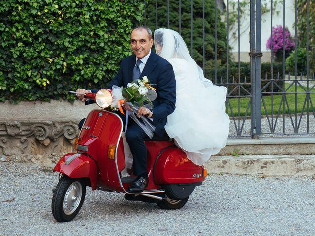 Il matrimonio di Damiano e Mara a Cassano d'Adda, Milano 16
