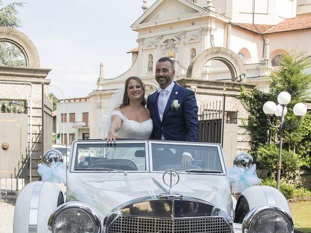 Il matrimonio di Alessandro e Marzia a Lesmo, Monza e Brianza 43