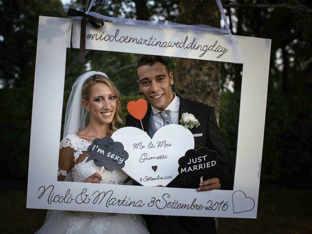 Il matrimonio di Nicolò e Martina a Lucca, Lucca 79