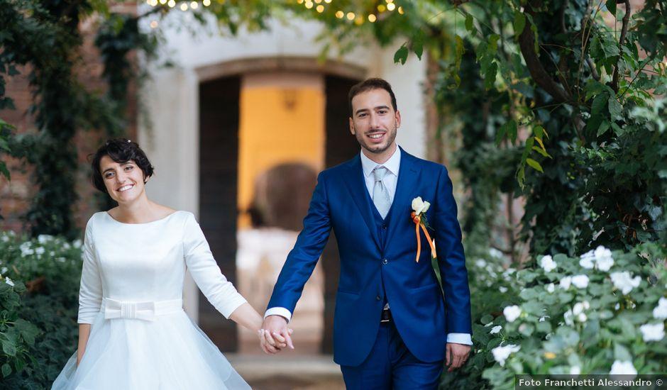 Il matrimonio di Damiano e Mara a Cassano d'Adda, Milano