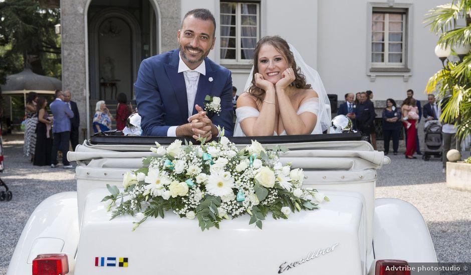 Il matrimonio di Alessandro e Marzia a Lesmo, Monza e Brianza