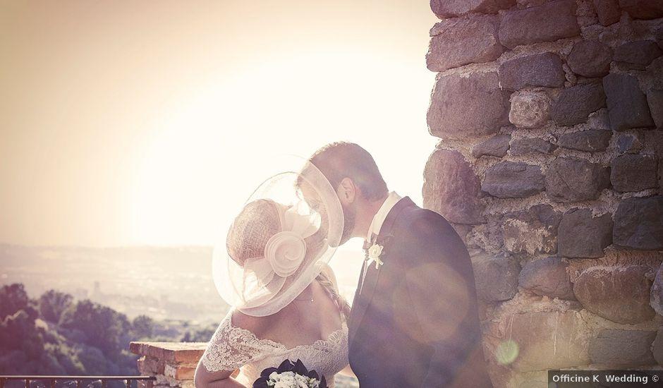 Il matrimonio di Mattia e Vittoria a Torgiano, Perugia