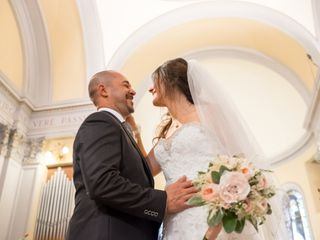 Le nozze di Pamela  e Christian