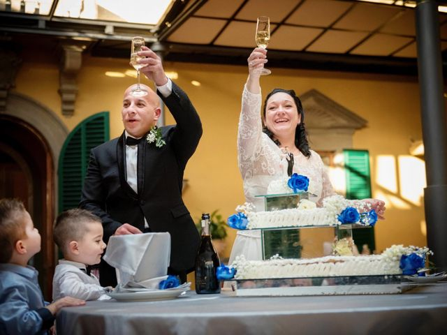 Il matrimonio di Francesco e Francesca a Signa, Firenze 71