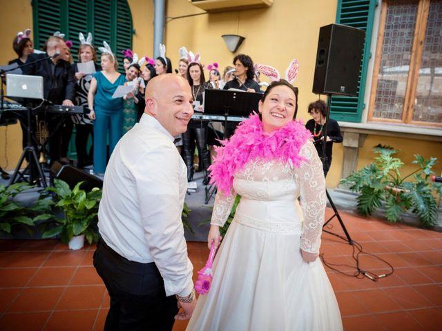 Il matrimonio di Francesco e Francesca a Signa, Firenze 79