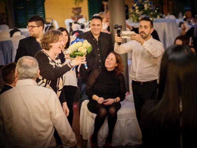 Il matrimonio di Francesco e Francesca a Signa, Firenze 86