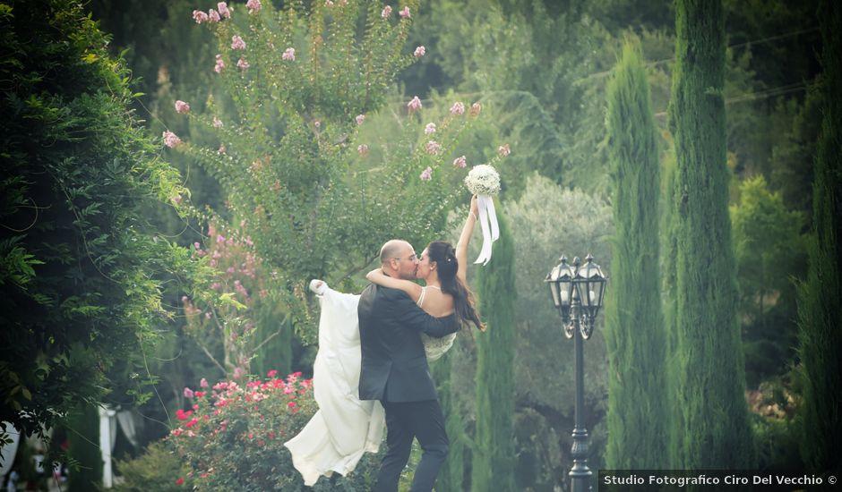 Il matrimonio di Teresa e Domenico a Mondragone, Caserta