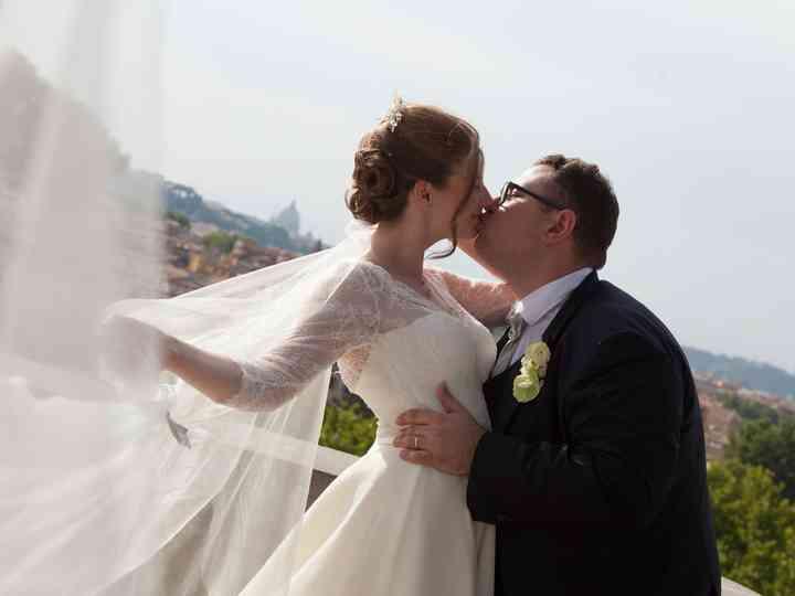 le nozze di Kseniia e Fabrizio