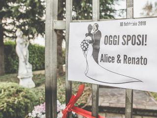 le nozze di Alice e Renato 1