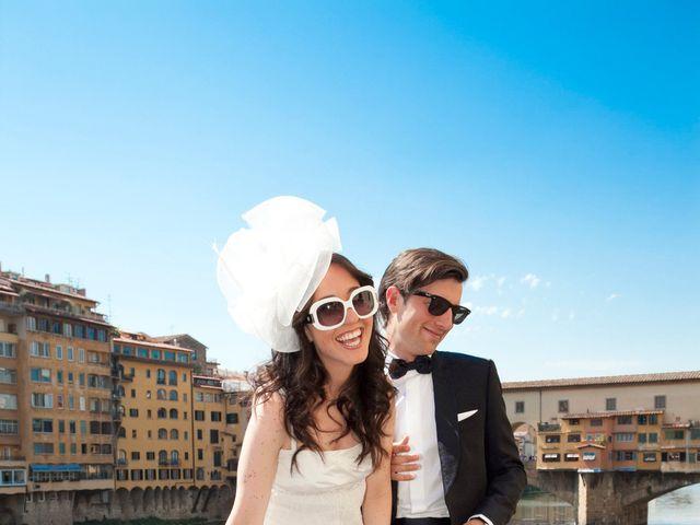 Il matrimonio di Lapo e Jodi a Firenze, Firenze 11