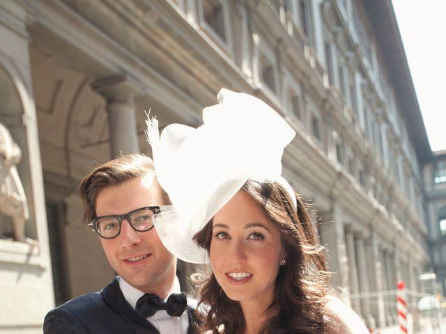 Il matrimonio di Lapo e Jodi a Firenze, Firenze 15