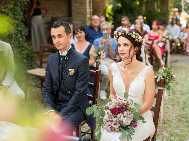 Il matrimonio di Fabio e Valentina a Brisighella, Ravenna 40
