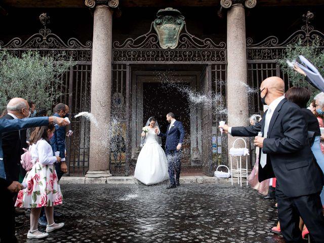 Il matrimonio di Ana e Roberto a Grottaferrata, Roma 21