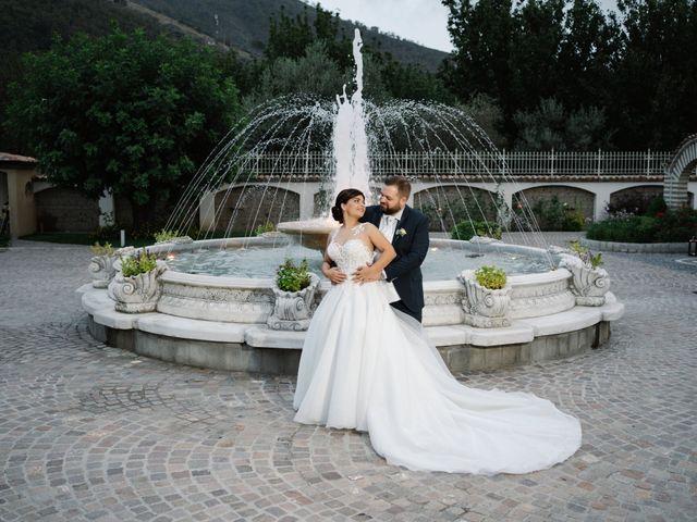 Il matrimonio di Vincenzo e Matilde a San Marzano sul Sarno, Salerno 133