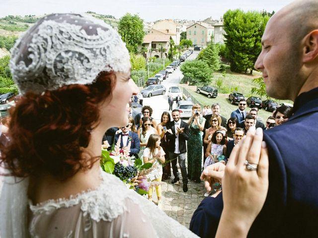 Il matrimonio di Andrea e Nikita a Offida, Ascoli Piceno 22