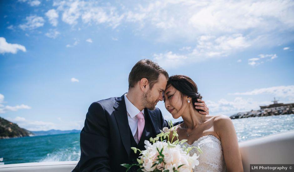 Il matrimonio di Edoardo e Adriana a Rapallo, Genova