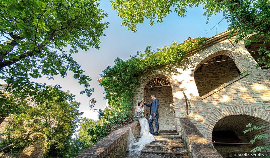 Il matrimonio di Fabio e Valentina a Brisighella, Ravenna