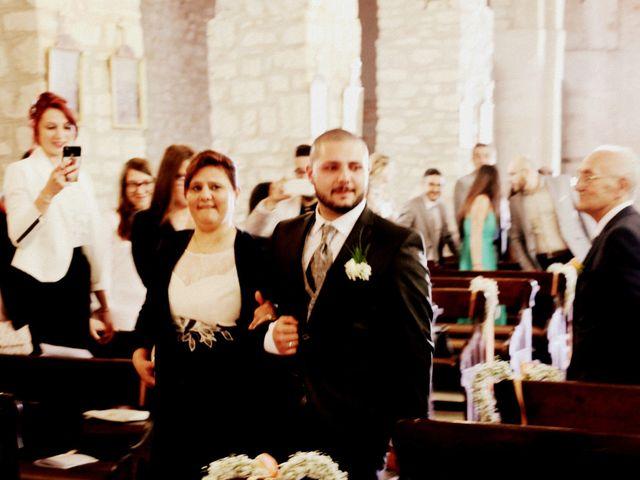 Il matrimonio di Daniele e Maria Pia a Fortunago, Pavia 11