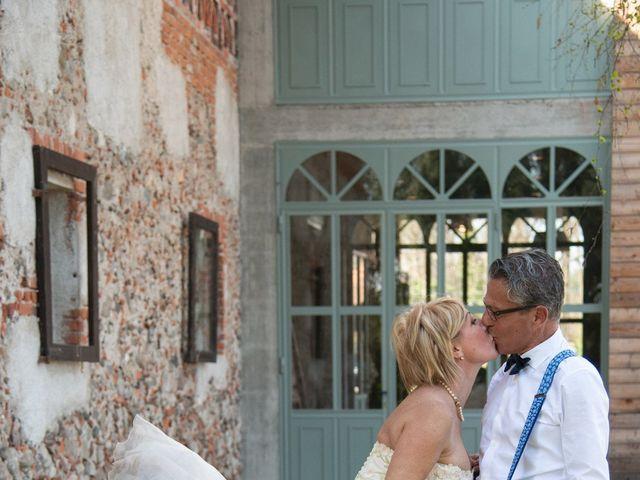 Il matrimonio di Gigi e Olga a Cureggio, Novara 17