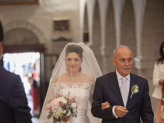 Il matrimonio di Gaia e Riccardo a San Severino Marche, Macerata 45