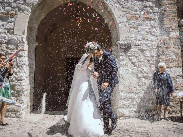 Il matrimonio di Gaia e Riccardo a San Severino Marche, Macerata 70