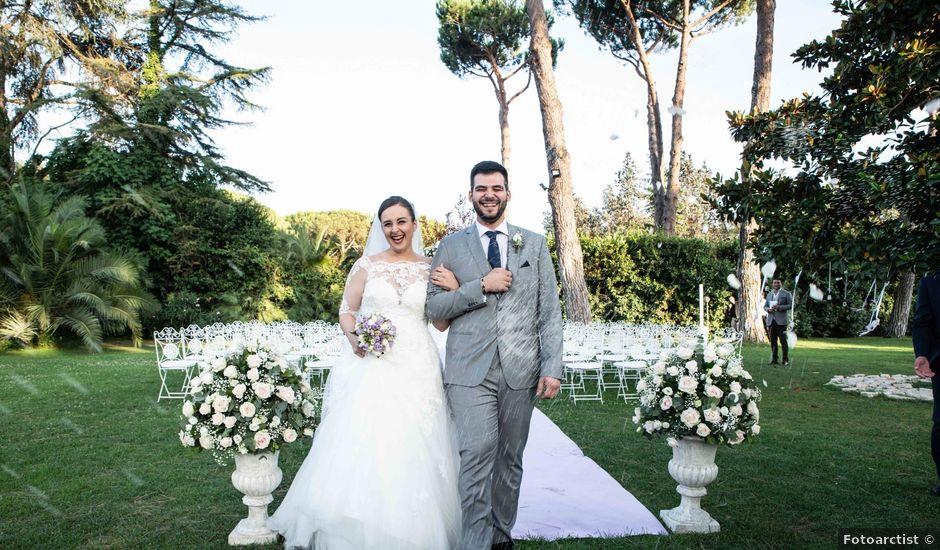 Il matrimonio di Anthony e Michela a Roma, Roma