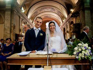 Le nozze di Vanessa e Patrik