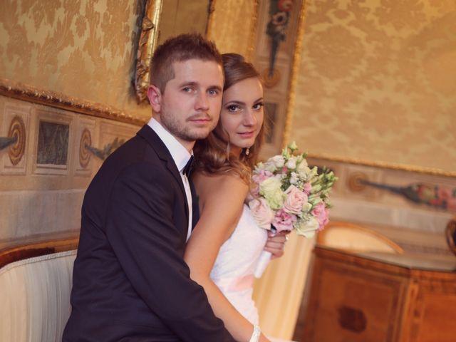 le nozze di Yuriy e Tetyana