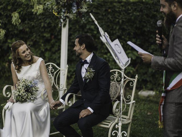 Il matrimonio di Davide e Giulia a Ziano Piacentino, Piacenza 25