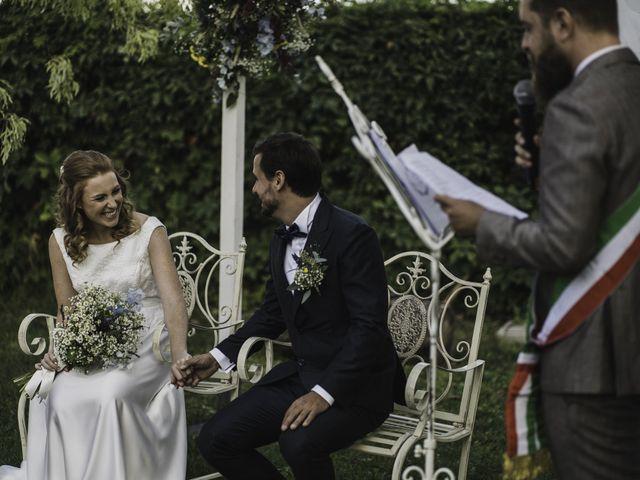 Il matrimonio di Davide e Giulia a Ziano Piacentino, Piacenza 26