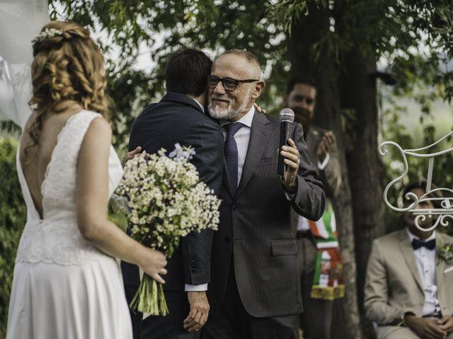 Il matrimonio di Davide e Giulia a Ziano Piacentino, Piacenza 34