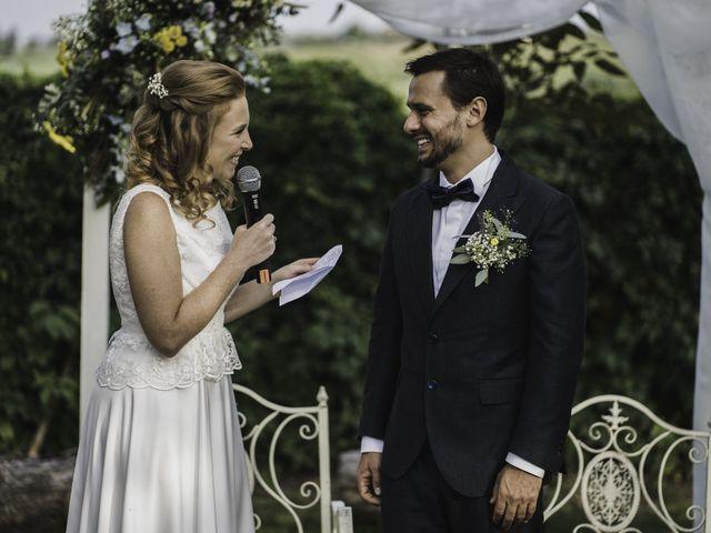 Il matrimonio di Davide e Giulia a Ziano Piacentino, Piacenza 43