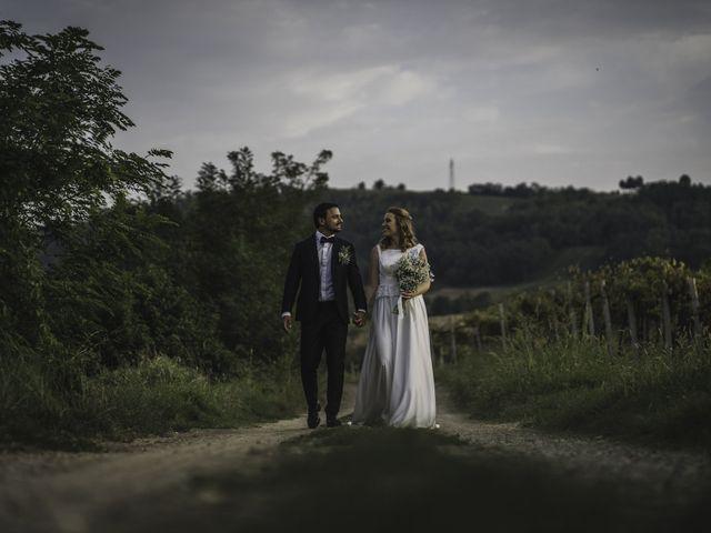 Il matrimonio di Davide e Giulia a Ziano Piacentino, Piacenza 59