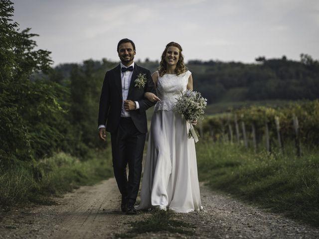 Il matrimonio di Davide e Giulia a Ziano Piacentino, Piacenza 60
