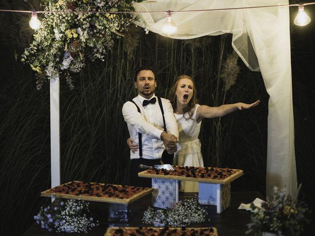 Il matrimonio di Davide e Giulia a Ziano Piacentino, Piacenza 91