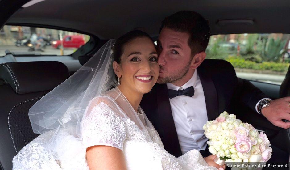 Il matrimonio di Alessandro e Diana a Ercolano, Napoli