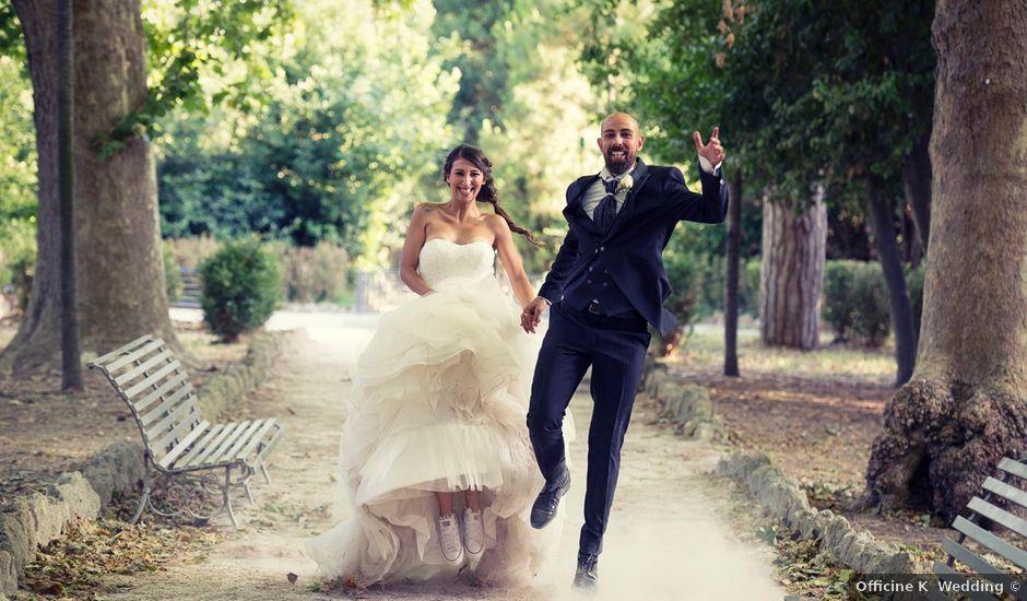 Il matrimonio di Luigi e Sara a Roma, Roma