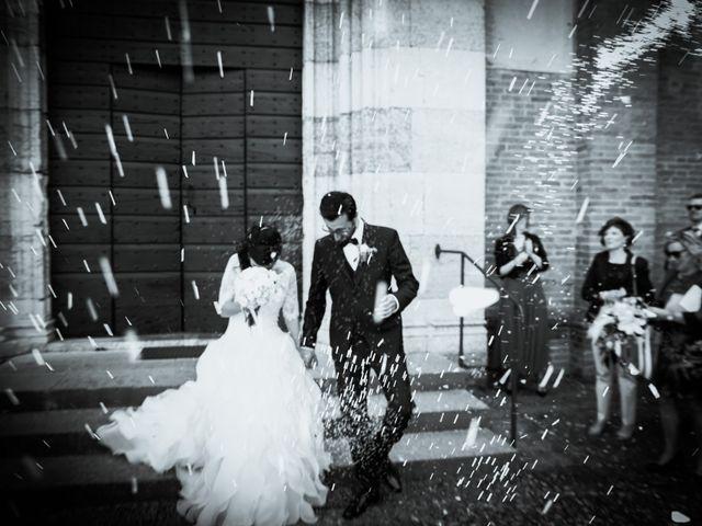 le nozze di Melissa e Luigi