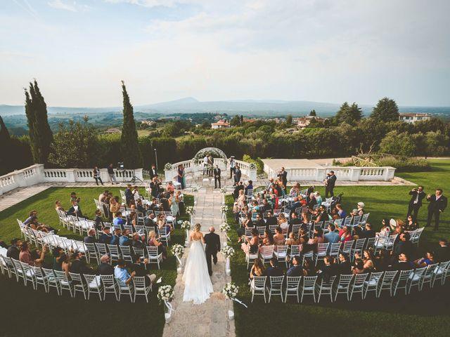 Il matrimonio di Andrea e Caterina a Bassano Romano, Viterbo 2