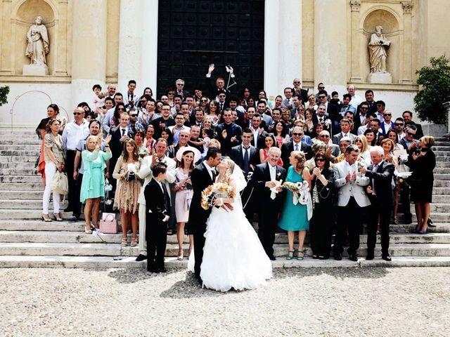 Il matrimonio di Silvia e Riccardo a Villafranca di Verona, Verona 17