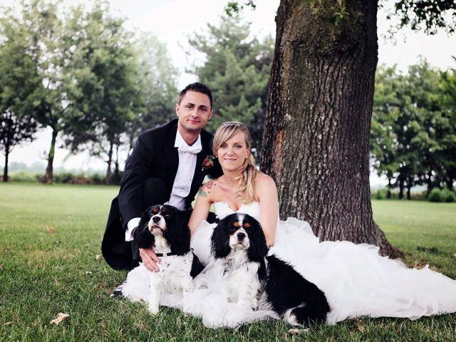 Il matrimonio di Silvia e Riccardo a Villafranca di Verona, Verona 33