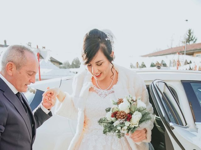 Il matrimonio di Samuele e Eliana a Cislago, Varese 8
