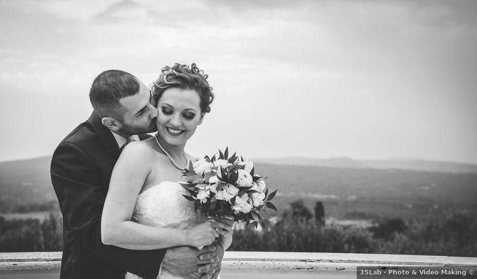 Il matrimonio di Andrea e Caterina a Bassano Romano, Viterbo