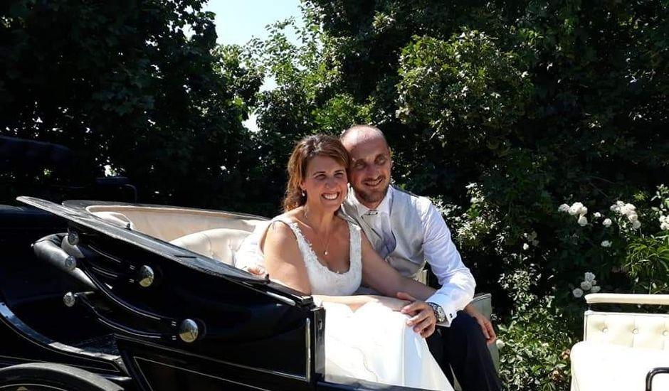 Il matrimonio di Marcello  e Alessandria  a Zerbolò, Pavia