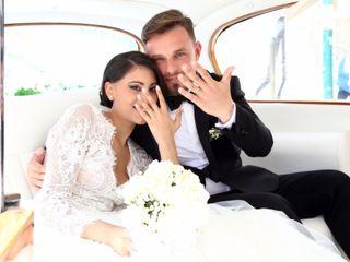 Le nozze di Fatima e Giovanni